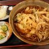 平成食堂 - 料理写真:かき揚げ蕎麦(温・730円)