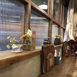 オソラカフェ - 店内はオシャレ。西中島なのに♪
