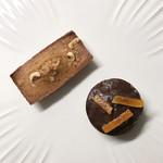 コントワール ピエール・エルメ - 料理写真:フィナンシェ ヘーゼルナッツ&プチケーク ショコラオランジュ
