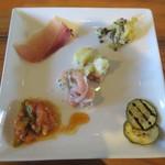 チェルト ホノボーノ - 前菜たち
