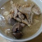 竹沢商店 - 料理写真:煮込み。根菜一切無し。