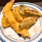 日本料理 大坂ばさら - 天ぷら