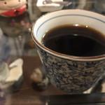 金太郎 - かぐや姫セットにはコーヒーかアイスクリームが付きます。