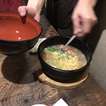 ごま厨 - 料理写真:鉄板レタス炒飯 蟹身あんかけ