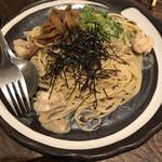 ごま厨 - 料理写真:金ごまクリームパスタ