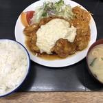 竜宮ラーメン - チキン南蛮750円