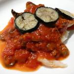 ビストロ グランビア - メヌケのソテー 辛口トマトソース