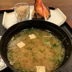 鶴べ別館 - お味噌汁