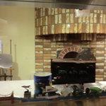 パパ・ダビデ - ピザを焼く窯 見えますよ♪