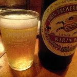 駅前 桃若 - 瓶ビール