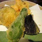 兼蔵 - 天ぷら盛り合わせ