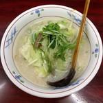 京らーめん長崎ちゃんぽん シェフ - 料理写真:長崎チャンポン(700円)
