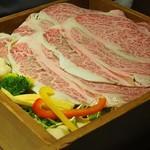101684899 - 佐賀牛と新鮮野菜7種のせいろ蒸し