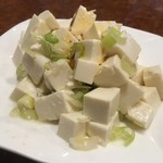 上海亭 - ねぎ豆腐