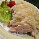 口福餃子 - パイスーチー(白切鶏)