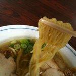 一富士食堂 - 中華そばの麺