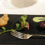 プルミエ・クリュ - 料理写真:本日のアミューズ