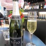 101693036 - TOSO Brut Chardonnay   800円(グラス)