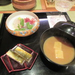 Chakaisekizushi - 茶懐石の向付け
