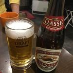 がっつりステーキ - 瓶ビール