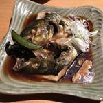 SUSHIと海鮮居酒屋 まるなみ - 「しまあじカブト」980円