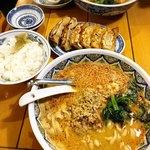 101697811 - 手前がタンタン麺、奥が激辛タンタン麺