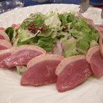うすけぼー - 合鴨の燻製サラダ仕立て