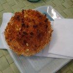 ラ ブティック ドゥ ジョエル・ロブション 丸の内ブリックスクエア店 - カボチャとチーズのカレーパン