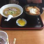 かつや食堂 - カツ丼と塩