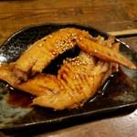 宮崎地鶏もも焼き 輪鶏 - お通し