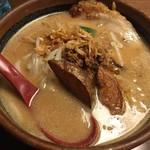 麺場 田所商店 - 北海道味噌らーめん 700円 炙りチャーシュートッピング