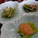 101704446 - 山菜定食のおかず②