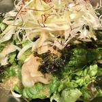 美味辛厨房 まるから - チョレギサラダ¥480