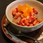 寺沢 - デザート、胡麻のムース