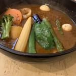 カリー&カフェ SAMA - ハンバーグ野菜カリー