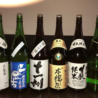 北海道の銘酒多数そろえております☆