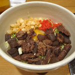 かりん - 料理写真:スジとこんにゃく玉のお好み焼きを注文