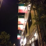 10172415 - イタリアの国旗がずら~っと