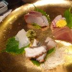 Kageyama - お刺身5種盛り♪