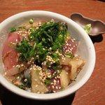 しん寅゛ - 本日の海鮮づけ丼 ¥600