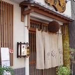手打ちそば 菊谷 - お店は巣鴨駅から歩いて10分少々。