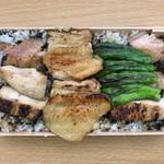 とり喜 - お土産のきじ丼(肉多め)(ご飯多め)