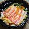 成城石井 - 料理写真:銘柄豚バラ肉のチゲ鍋セット
