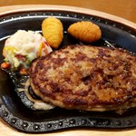 ハンバーグレストラン ベル - レギュラーハンバーグステーキ200g