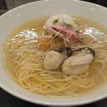 らぁ麺やまぐち - 料理写真:牡蠣塩そば