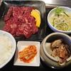 焼肉だいじゅ園 - 料理写真:サガリセット1,600円(税抜)