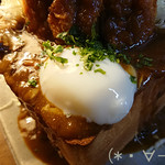 カフェ 呂久呂 - 半熟卵!!