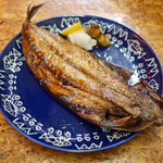 魚飯 - 鯖焼き