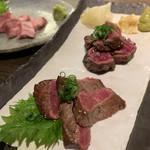 野武士 - 料理写真:和牛イチボ&サガリ