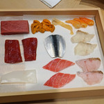 三谷 - 今日の鮨の種